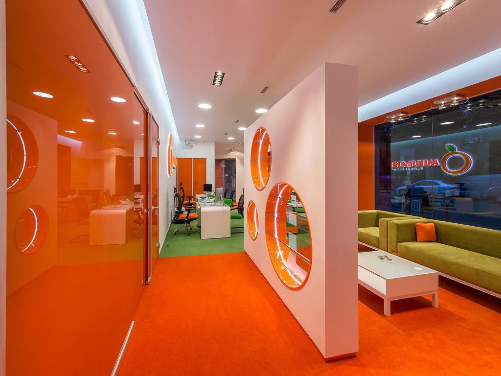 Apelsyn travel agency michael samoriz for Travel agency office interior design